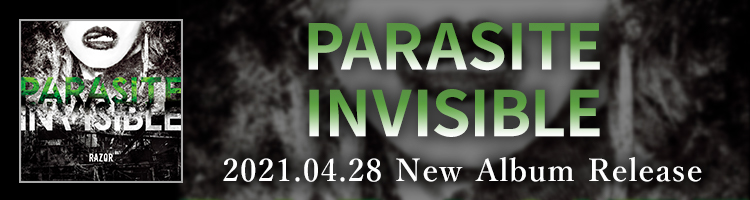 PARASITE INVISIBLEリリース!
